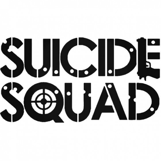 Suicide Squad Decal Sticker