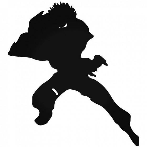 Naruto Kiba Inuzuka 4 Decal