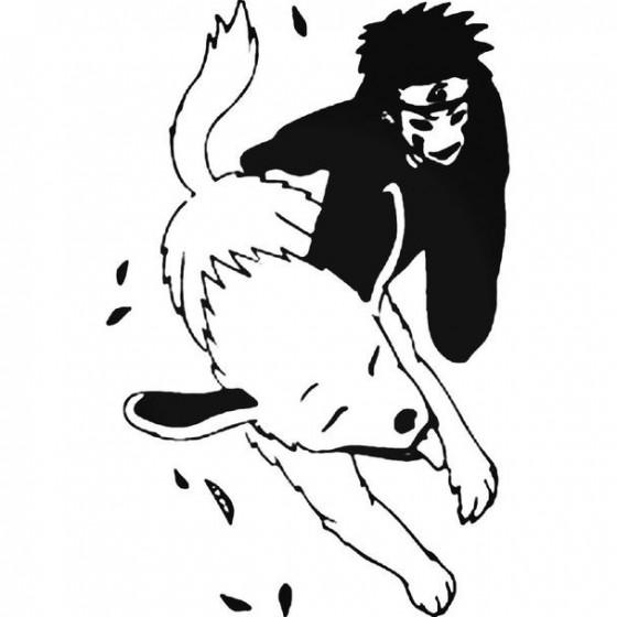 Naruto Kiba Inuzuka 6 Decal