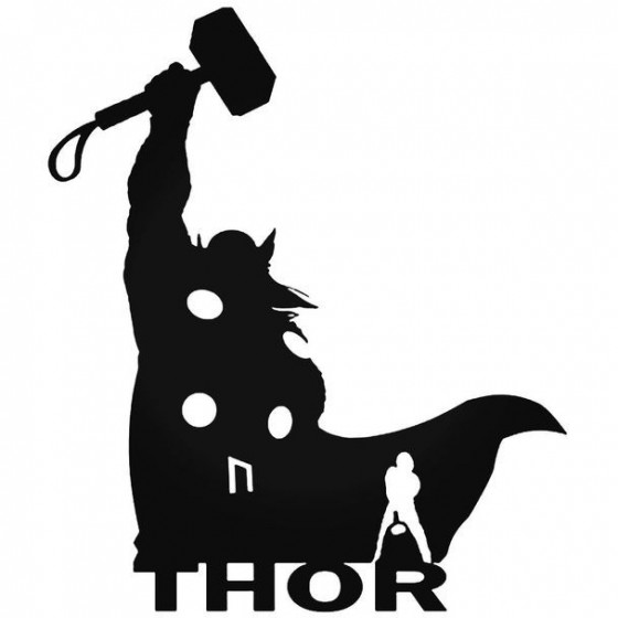 Thor 80 Decal