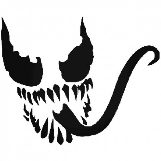 Venom Face Decal