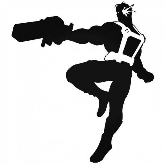 X Men Cable Decal Sticker