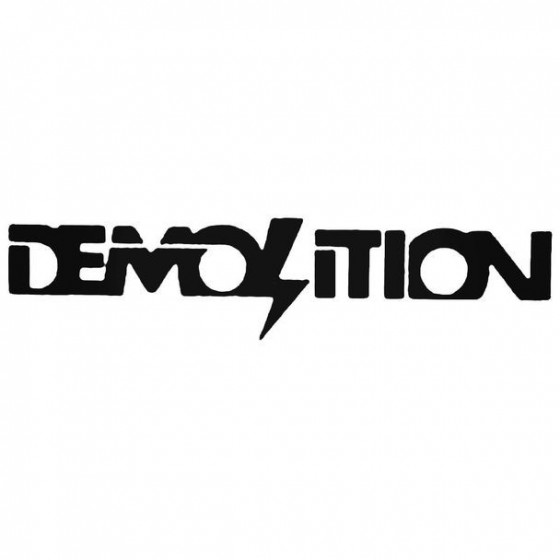 Demolition Bmx Text Cycling