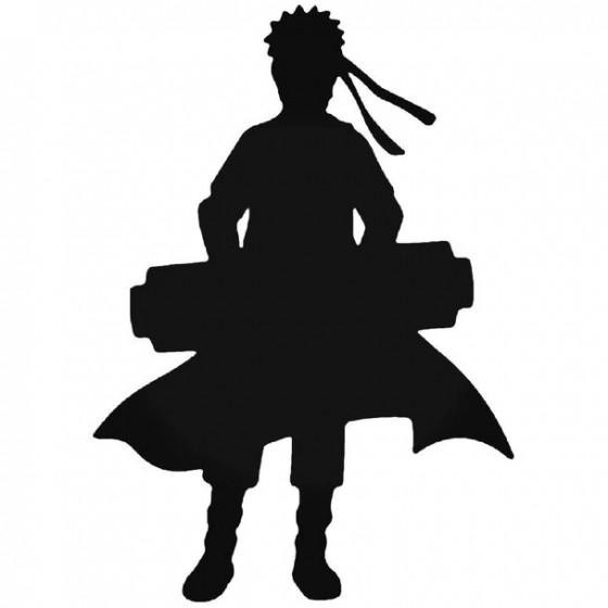 Naruto Naruto Silhouette Decal