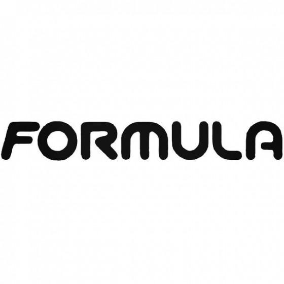 Formula Brakes Text Cycling