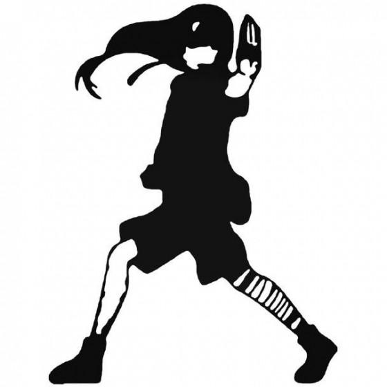Naruto Neji Hyuga 12 Decal