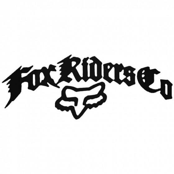 Fox Racing Riders Co Cycling