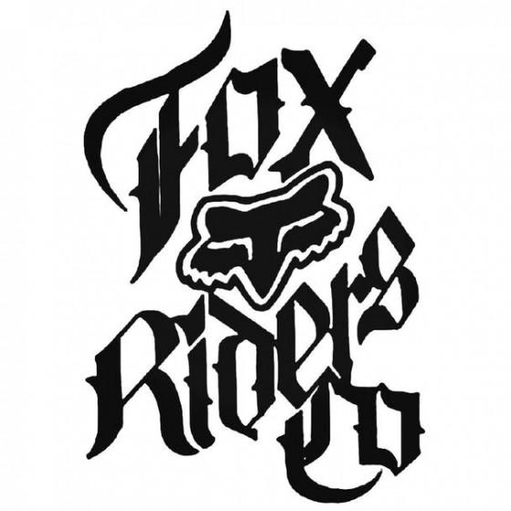 Fox Racing Riders Co...
