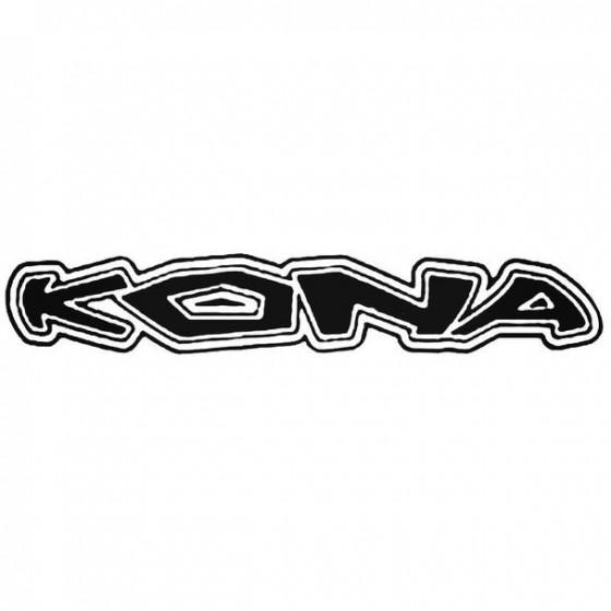 Kona Text Retro Cycling
