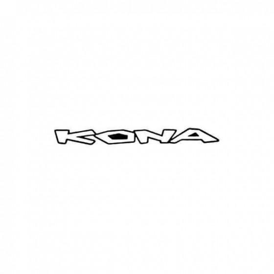 Kona Text Straight Cycling