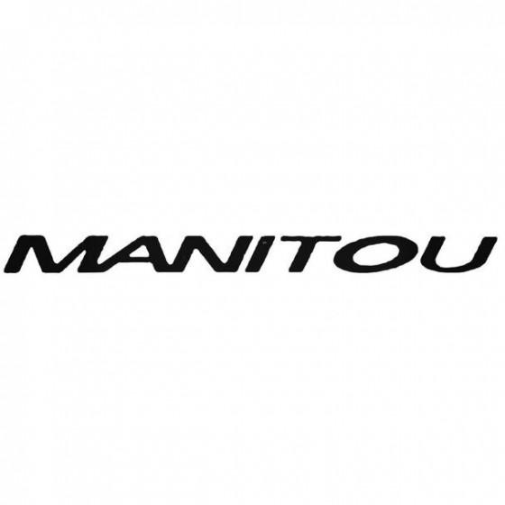 Manitou Slanted Cycling
