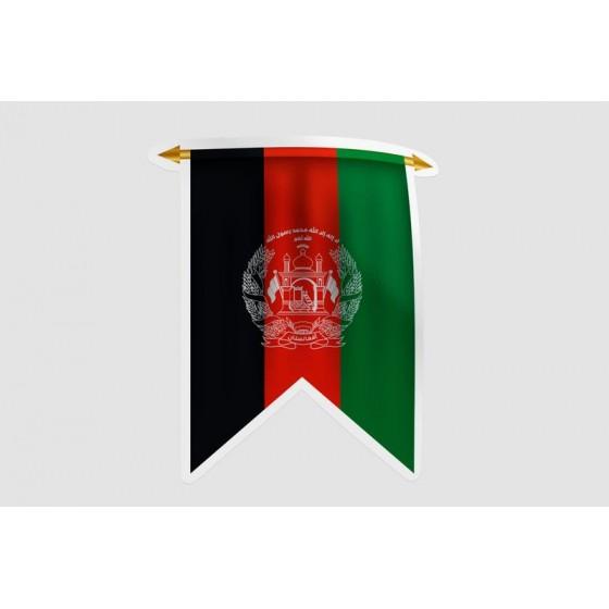 Afghanistan Flag Style 13...