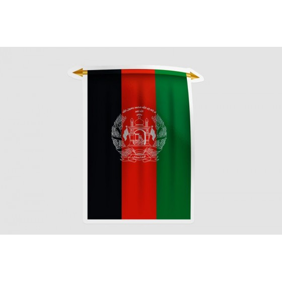 Afghanistan Flag Style 17...