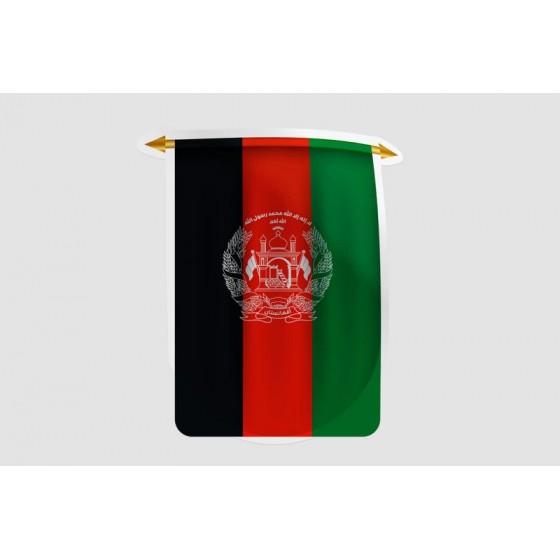 Afghanistan Flag Style 18...