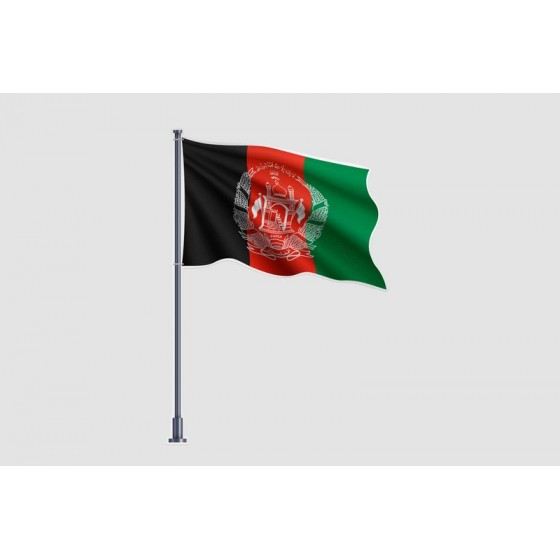 Afghanistan Flag Style 22...
