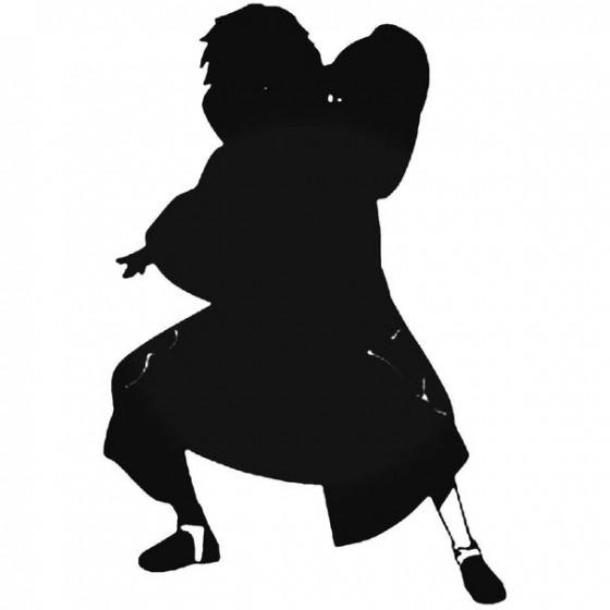 Naruto Sasori Silhouette Decal