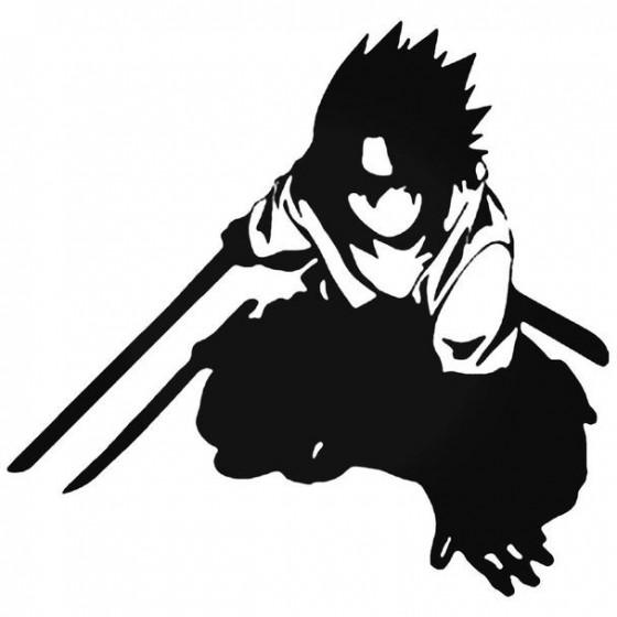Naruto Sasuke Uchiha 2 Decal
