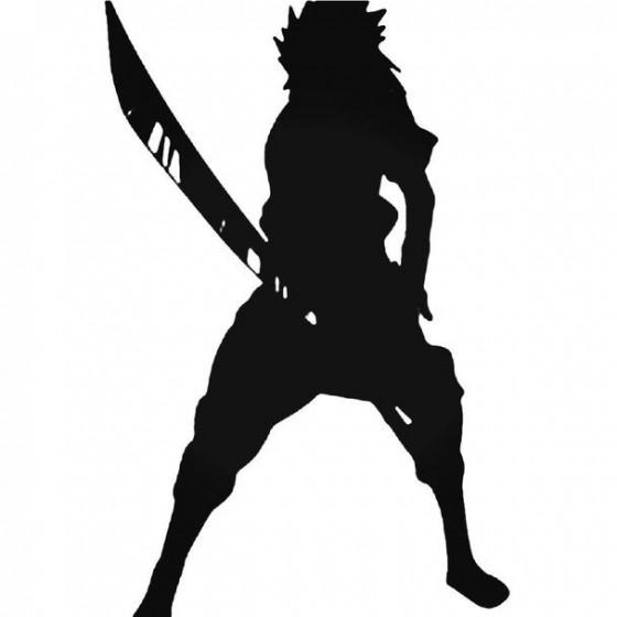 Naruto Sasuke Uchiha 9 Decal