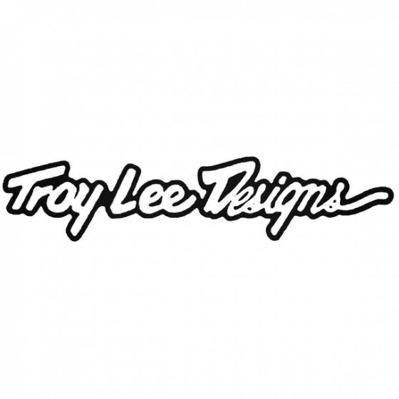 Troy Lee Designs Text Bold...