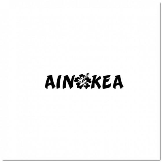 Ainokea With Hisbicus...