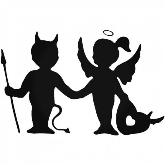 Angel Demon Friendship Love...