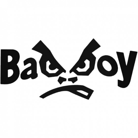 Bad Boy Vinyl Decal