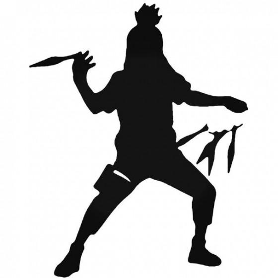 Naruto Shikamaru Nara 14 Decal
