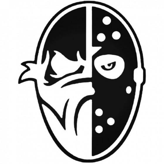 Bad Meets Evil Mask Decal...