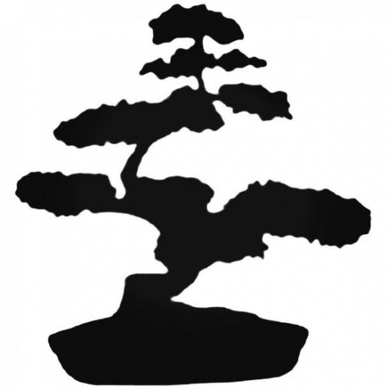 Bonsai Tree Decal Sticker