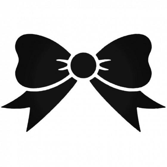 Bow Tie Decal Sticker