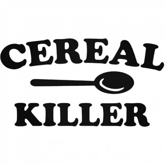 Cereal Killer Decal Sticker