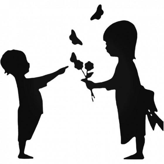 Children Friendship Decal...