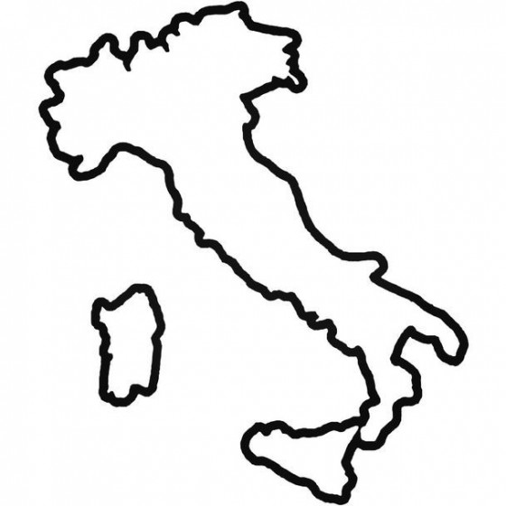 Country Italy Decal Sticker