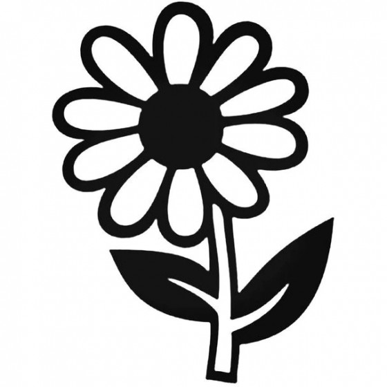 Daisy Flower Decal Sticker