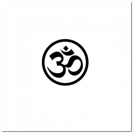 Om Yoga Meditation Decal...