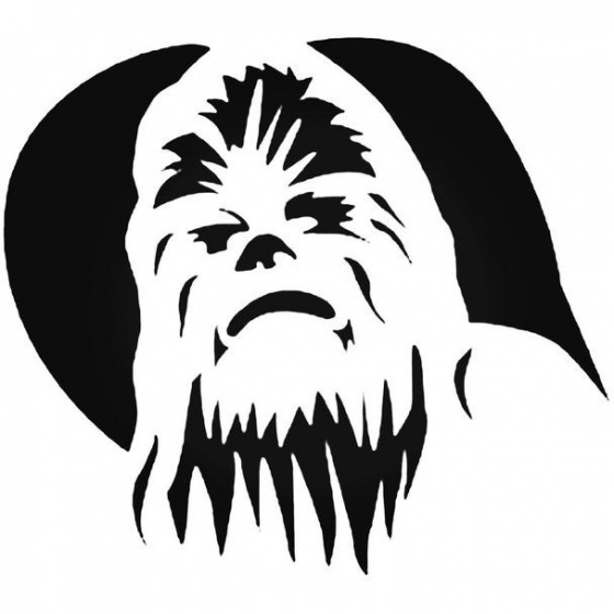 Star Wars Chewbacca 003 Decal