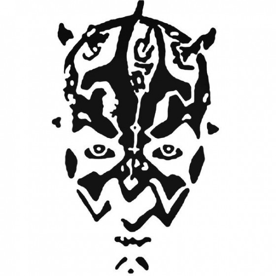 Star Wars Darth Maul 03 Decal