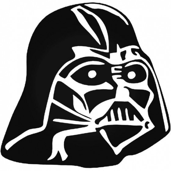 Star Wars Darth Vader 75 Decal