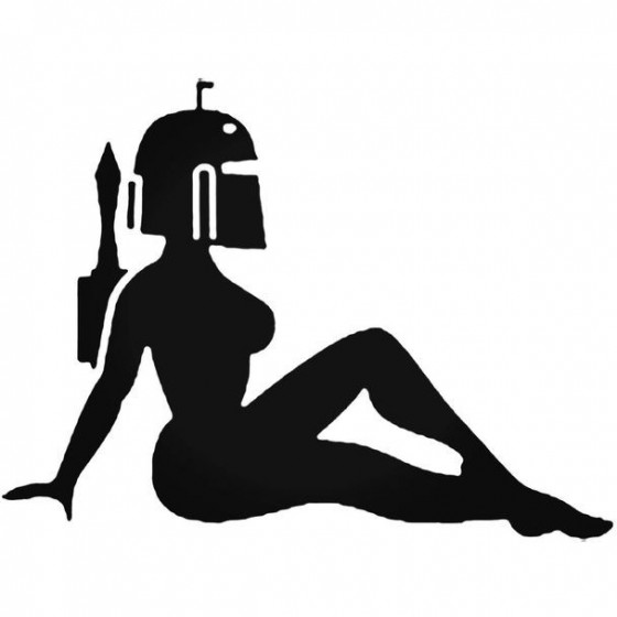 Star Wars Female 034 Decal