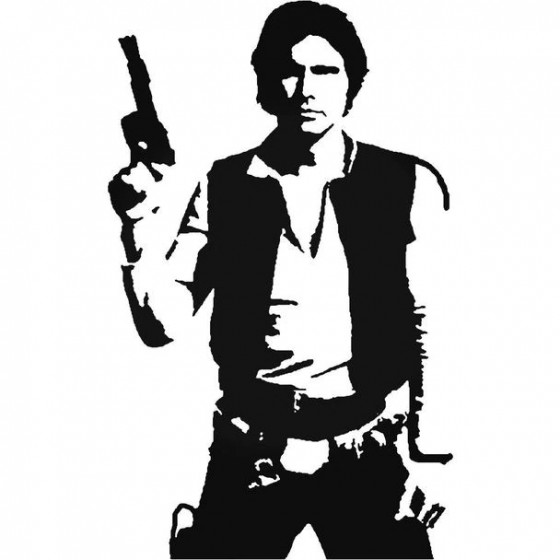 Star Wars Han Solo 97 Decal