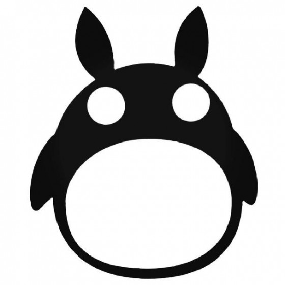 Totoro Anime 1 Decal Sticker
