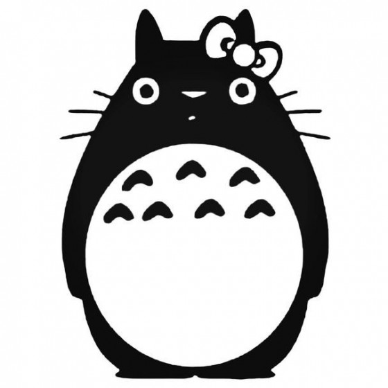 Totoro Anime 3 Decal Sticker