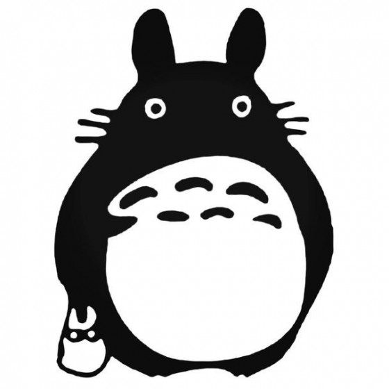 Totoro Anime 4 Decal Sticker
