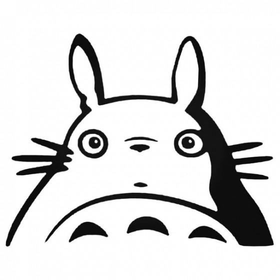 Totoro Anime 7 Decal Sticker