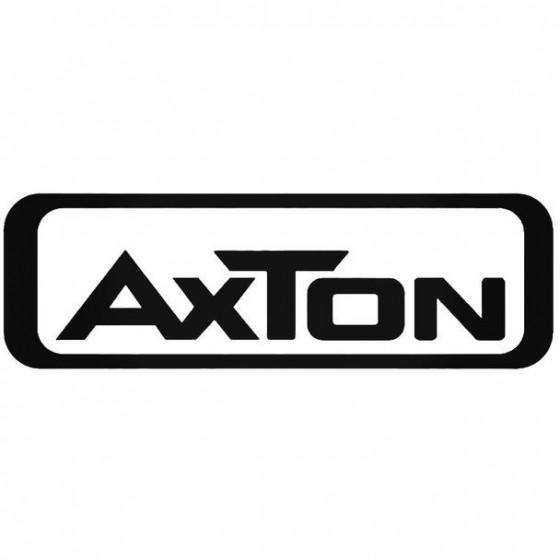 Axton Audio Vinyl Decal...