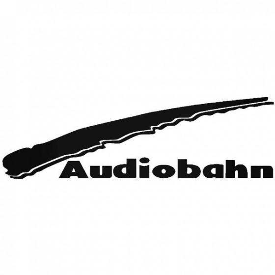 Brax Audio Vinyl Decal Sticker
