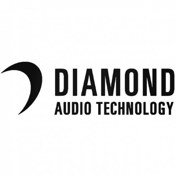 Diamond Audio Decal Sticker