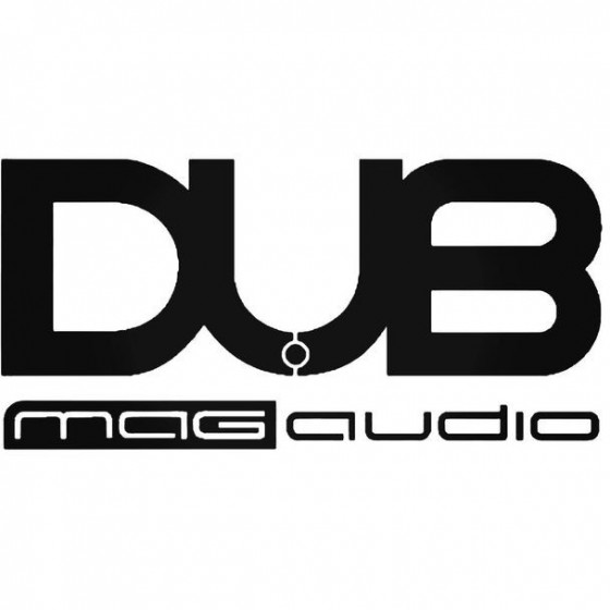 Dub Mag Audio Vinyl Decal...