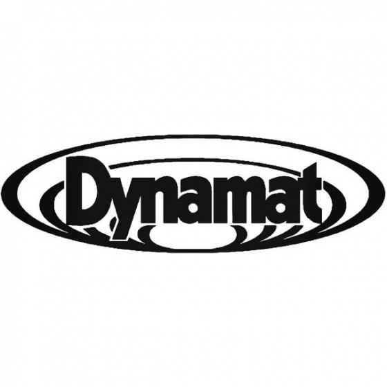 Dynamat Decal Sticker