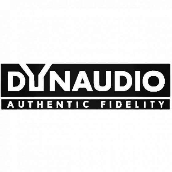 Dynaudio Audio Decal Sticker